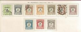 Moçambique, 1904, # 1/10, Porteado, MH And Used - Mosambik