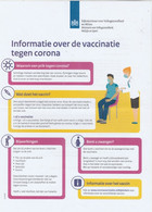 Covid-19 / Corona Vaccinatie Enveloppe Rijksoverheid (NL) - Sonstige