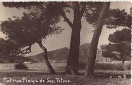 Mallorca Playa De San Telmo, Postal Antigua, Old Postcard - Mallorca