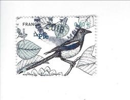 """Série """"Nature De France"""" Faune Oiseaux De Nos Jardins  N° 5241 Oblitéré - 2010-.. Matasellados"""