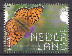 Nederland - Beleef De Natuur - 14 Juni 2021 - Duin En Kruidberg - Duinparelmoedervlinder - MNH - Schmetterlinge