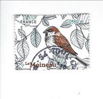 """Série """"Nature De France"""" Faune Oiseaux De Nos Jardins  N° 5240 Oblitéré - 2010-.. Matasellados"""