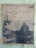 PROTÈGE-CAHIER MUSÉUM NATIONAL D'HISTOIRE ZOOLOGIQUE DU BOIS DE VINCENNES PARIS FABLE LA FONTAINE - Book Covers