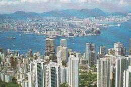 Hong Kong ** & Postal,  Kowloon From The Peak (8686) - Cina (Hong Kong)