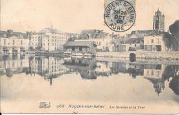 NOGENT Sur SEINE -  Les Moulins Et La Tour - Nogent-sur-Seine