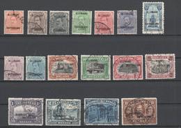 Belgische Militärpost In Deutschland , Nr 1-17 Gestempelt - Occupation 1914-18