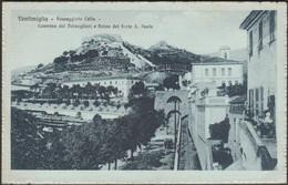 Passeggiata Colla, Ventimiglia, C.1910s - Gibelli Cartolina - Autres Villes