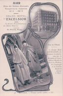 """Alger, Publicité Grand Hôtel """"Excelsior"""" Prop. H. Fille (46) - Alger"""