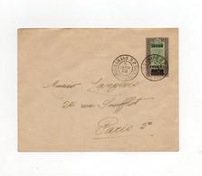 !!! SOUDAN, ENTIER POSTAL DE BAMAKO POUR PARIS DE 1922 - Cartas