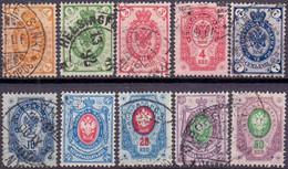 FINLAND 1891 Zegels Met Ringen GB-USED - Used Stamps