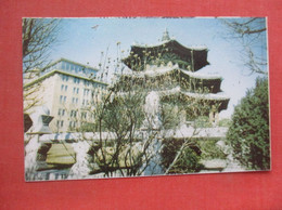 Octagonal Pavilion In Backyard Of Chosun Hotel   Korea,      Ref  4981 - Corea Del Sud
