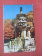 Dabo -tab Tower Pool-kuk-sa-temple    Korea,      Ref  4981 - Corea Del Sud
