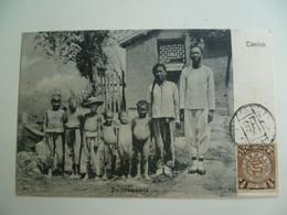 CPA / Carte Postale Ancienne / CHINE / TIENTSIN - Famille Paysanne  - Dorfstrassenbild - China