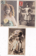 LOT/072.........5 CPA ARTISTES - 5 - 99 Postcards