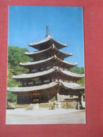 Pal-Sang-Jun  Bupchu-sa-temple  Mt Sokni   Korea,      Ref  4981 - Corea Del Sud