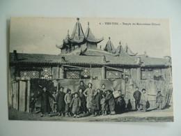 CPA / Carte Postale Ancienne / CHINE / TIENTSIN - Temple Des Mahométants Chinois - China