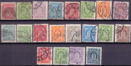 DENEMARKEN 1871-1923 Dienstzegels GB-USED - Dienstzegels