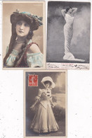 LOT/073.........5 CPA ARTISTES - 5 - 99 Postcards