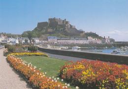 Postcard Mont Orgueil Castle Gorey Jersey My Ref B24840MD - Jersey