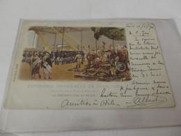 Exposition Universelle 1900 Paris La Présentation Au Négus - Autres