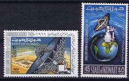 Kuwait Space 1969 Kuwait Earth Station And Intelsat 4 - Koeweit