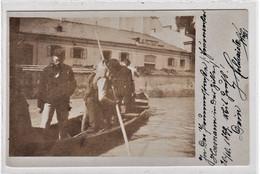 Linz , 1899 ,  Donau , Hochwasser  , Turn - Halle - Linz