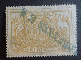BELGIE  Spoorwegen  1882    TR 12   Griff Stempel   Zie Foto  Gestempeld - Used
