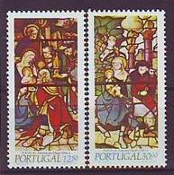 PORTUGAL 1615-1616,unused,Christmas 1983 - Unused Stamps