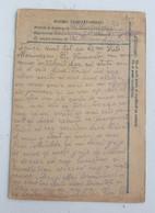 Romania Romanian Military Postcard Postcards Lot WW2 Interbelic Censored Militaria Frontline Ostfront Front Army Officer - Rumania