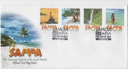 Samoa 2002 Scenic  First Day Cover - Samoa (Staat)