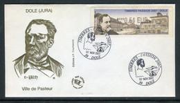 """France - Vignette D'affranchissement Illustrée """" Pasteur """" En 2007 Sur Enveloppe FDC - Ref J 8 - 1999-2009 Viñetas De Franqueo Illustradas"""