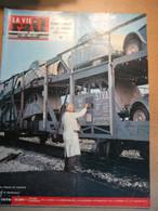 Vie Du Rail 1079 1967 Moux Corbigny Triage Trappes Citroen 2cv Ds Mutuelle Sncf Laon Turbotrain - Trains