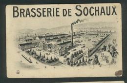 25 - Sochaux - Brasserie De Sochaux - Carte Dessin - Sochaux