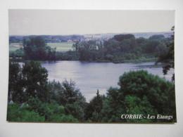 CORBIE Vue Sur Les Etangs - 80 SOMME - Corbie