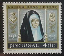 PORTUGAL 1958, Reine Rainha Dona Leonor , Yvert No 856, 4 E 10, Neuf ** MNH TB - Unused Stamps