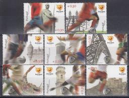 PORTUGAL 2797-2804,unused,football - Unused Stamps