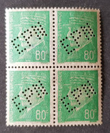 France - Timbre(s) Perforés/Perfin's Nsg(*) - 2 Scan(s) TB - D0197 - Unused Stamps