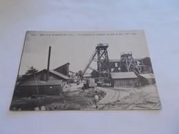 MINES DE FER DE SEGRE ( 49 Maine Et Loire )  VUE D ENSEMBLE DES MACHINERIES DU PUITS DU BOIS 1 Octobre 1916 ANIMEES - Segre