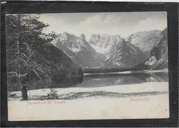 AK 0733  Dürrensee Und Mte. Cristallo ( Ampezzotal )  Ca. Um 1910 - Belluno