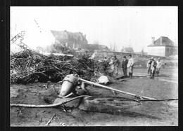 Cpa St003653 Zeppelin Abattu à Compiègne L 39 4 Cpa + 3 Photos , Luftschiff L-39 , Dirigeable Allemand Marine + Bulletin - War 1914-18