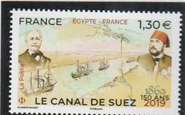 FRANCE 2019 LE CANAL DE SUEZ NEUF YT 5347 - Unused Stamps