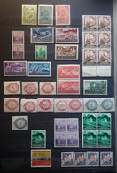 LIECHTENSTEIN Collection De 45 Timbres Anciens Majorité Neufs ** MNH Dont Bloc De 4, Service, Taxe , Bonne Cote - Collections