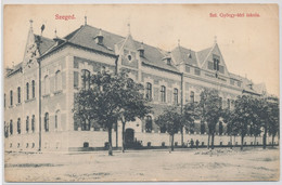 Szeged - School At St. Gyorgy Square - Hungary