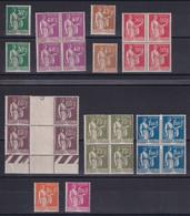 D 195 / LOT ENTRE N° 280 ET 289 NEUF** COTE 55.20€ - Collections