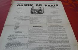 Rare Journal Le Gamin De Paris N°1 4 Juin 1848 Candidats Aux élections Victor Hugo Caussidière Proud'hon - 1800 - 1849