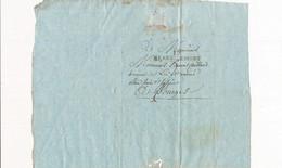 Courrier Année 1810 écrite D' HENRICHEMONT 18 CHER Pour GAILLARD Avoué à BOURGES - 1792-1815: Conquered Departments