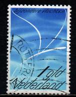 OLANDA - 1980 - Volo Stilizzato - USATO - Airmail