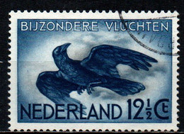 OLANDA - 1938 - Crow In Flight - USATO - Airmail