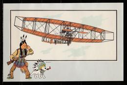 """TINTIN / Chromo """"Voir Et Savoir"""" Par Hergé : Aviation Origine à 1914 : N° 24 - Editions Du LOMBARD - Autres"""