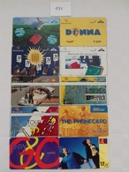 = BELGIUM - 10 DIFFERENT PHONECARDS  = LOT NR. 531 - With Chip